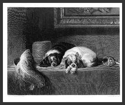 Cavalier Picture by Sir Edwin Landseer1802-1873